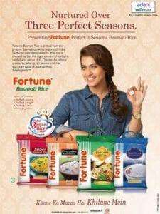 Fortune Rice advertisement